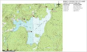 Ct Dss Map Sampling Station Maps Annual Reports Volunteer Lake Assessment