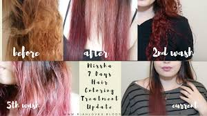 Washing Hair After Coloring Red - update missha 7 day hair color
