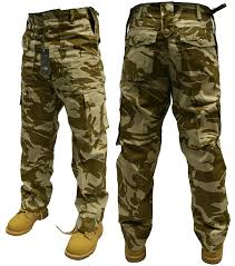 army pattern clothes adults camo army cargo combat trousers 12 different camo patterns