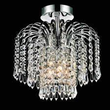 crystal semi flush mount lighting brizzo lighting stores 12 fountain crystal semi flush mount small