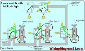 gorgeous 4 way light switch wiring diagram house electrical