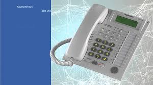 panasonic kx t7736 business phone youtube