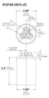ac run capacitor diagram wiring diagrams longlifeenergyenzymes com