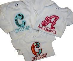 monogram baby items baby onesie monogrammed personalized for baby