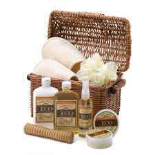vanilla ginger spa gift basket wholesale at koehler home decor