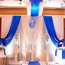 White Satin Curtains Get Cheap White Satin Curtains Wedding Aliexpress