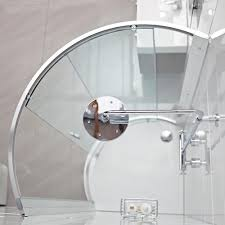 lumin8 bow fronted quadrant shower enclosure roman showers