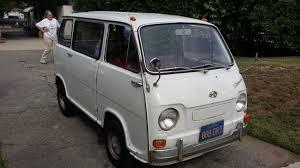 subaru microvan hi my name is ted in so cal