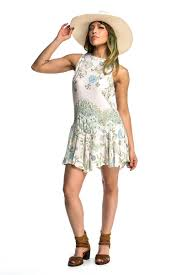 free people printed flouncy hem slip 3 colors available u2013
