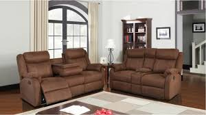 Sofa And Recliner A W F U9303 Chocolate Sofa And Or Recliner U9303s S022