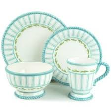discontinued fitz and floyd seaboard dinnerware
