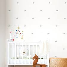 Wall Nursery Decals Mini Clouds Wall Decals Cloud Wall Decal Nursery Cloud Tiny