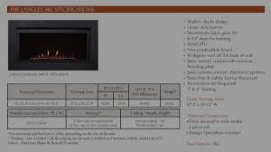 the langley 36 u2013 direct vent linear gas fireplace youtube