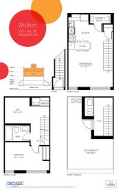 yorkdale floor plan yorkdale village townhomes by decade homes realestatebay ca