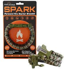 paracord bracelet buckle with whistle images Spark tm fire starter outdoor survival paracord jpg
