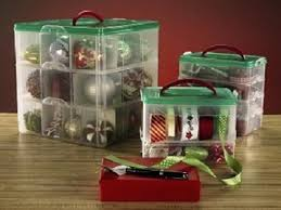 Plastic Storage Containers For Christmas Ornaments by Snapware Paksh Christmas Plastic Ornament Storage Container