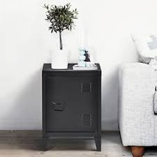 Stainless Steel Nightstand Metal Nightstand Ebay
