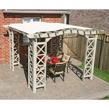 8 X 10 Pergola by Buy Sunbrella 2