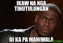 Ikaw Na Meme - ikaw na nga tinutulungan di ka pa maniwala meme kevin hart the