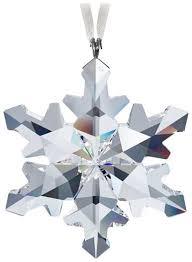swarovski 2012 snowflake ornament home