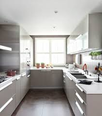 Steel Frame Kitchen Cabinets U Shaped Kitchen Designs With Breakfast Bar Double White Plastic