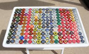 beer cap table top fun and ingenious diy projects you can do with bottle caps