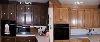 refacing kitchen cabinets before and after u2014 desjar interior