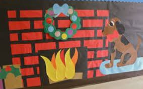 fireplace decorations bulletin boards stovers