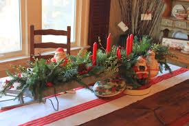make christmas table runner simple christmas table decoration ideas part easy dma homes 4277
