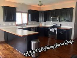 black stain on kitchen cabinets l black kitchen cabinet makeover general finishes