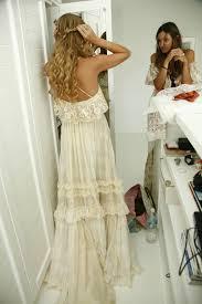 hippie boho wedding dresses chagne hippie boho wedding dress on luulla