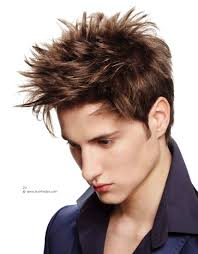 styling spiky hair boy spiked hairstyle and criss cross hair styling for men