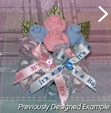 Baby Sock Corsage Baby Shower Corsages Twins Sock Wrist Corsage
