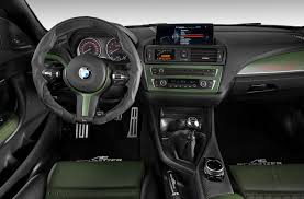 Bmw M235i Interior The Tuned Green Acl2 Bmw M235i Is Waiting To Impress At The Geneva
