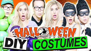 Cheap Couples Costumes Diy Halloween Couple U0027s Costumes Cheap And Easy Youtube