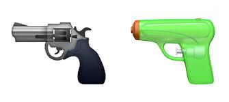 gardening emoji apple ditches pistol emoji in favor of water gun