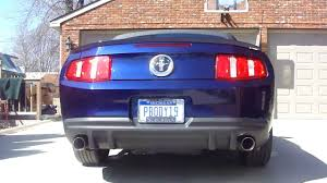 ford racing exhaust mustang v6 2010 mustang v6 ford racing dual exhaust