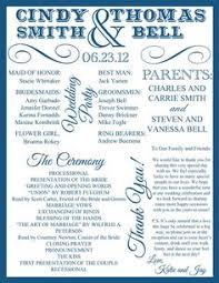wedding programs sles a wedding program is a great way to include guests at the wedding