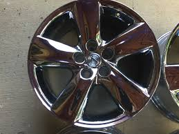 chrome lexus rims ga fs lexus ls460 oem chrome rims 19 set of four clublexus