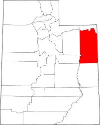 Utah Counties Map by National Register Of Historic Places Listings In Uintah County