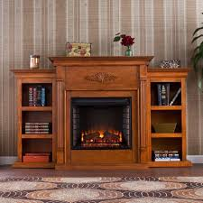 freestanding electric fireplace homcom 14 electric fireplaces