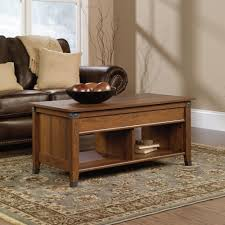 carson forge lift top coffee table 414444 sauder