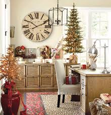 christmas decor in the home stylish home office christmas decoration ideas and inspirations