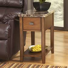 hardwood 10 inch chairside end table signature design by ashley breegin chair side end table multiple