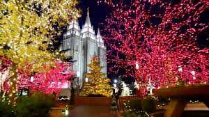 christmas lights at temple square youtube
