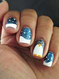 top 10 cutest winter inspired nail art ideas top inspired