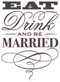 Eat Drink And Be Married Invitations Eat Drink And Be Merry Good Better Best Love