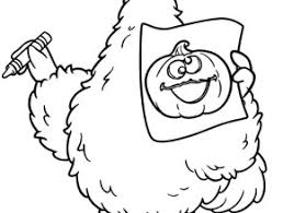 free coloring pages sesame street 2 number 3 coloring