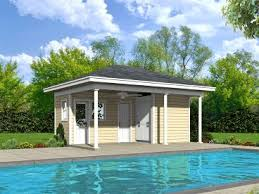 House Shop Plans Pool House Plans And Cabana Plans The Garage Plan Shop