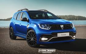 renault duster 2017 black dacia duster gt design version
